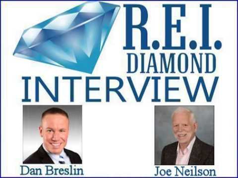 R.E.I. Diamond Interview with Best Selling Author Joe Neilson