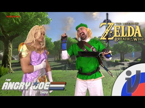 Angry Joe - The Legend Of Zelda: Breath Of The Wild (RUS VO)