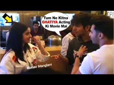 Kartik Aaryan Makes FUN Of Girlfriend Ananya Panday's ACTING In Front Of Varun Dhawan At SOTY2 Movie Mp3