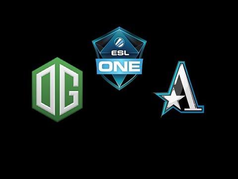 OG vs Team Aster ESL One Katowice 2019 Highlights Dota 2 thumbnail