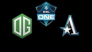 OG vs Team Aster ESL One Katowice 2019 Highlights Dota 2