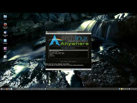 Arch-Anywhere - Arch Linux Installer - DONE!