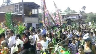 Domingo de ramos en Nahuizalco 2014
