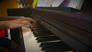 On rainy days - piano cover