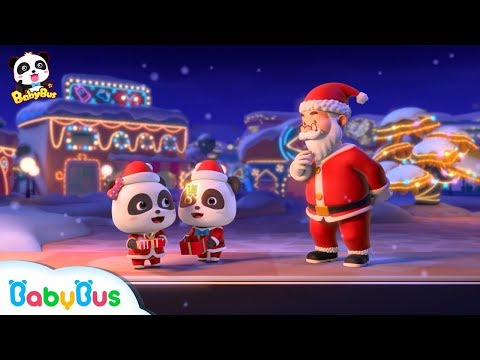 Santa Claus's Amazing Gifts | Baby Panda's Costume Show | Christmas Songs | BabyBus