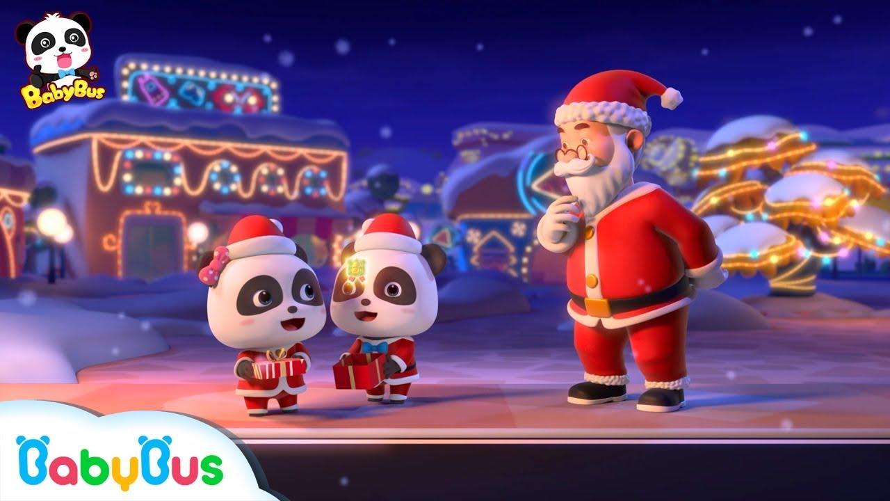 Santa Claus's Amazing Gifts | Baby Panda's Costume Show | Christmas Songs | BabyBus