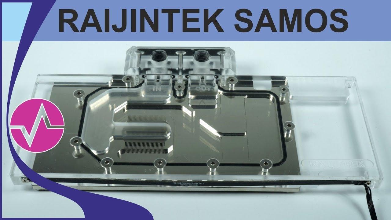 Exklusiv - Raijintek Samos NV 2080 Ti RBW - RTX 2080 Ti Wasserblock und 380  Watt BIOS im Test