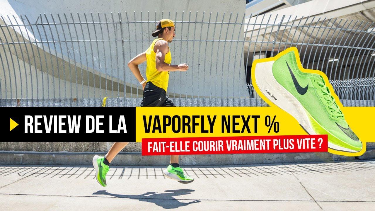 Test Nike ZoomX VaporFly Next% / 4% : La chaussure qui fait courir plus vite ?
