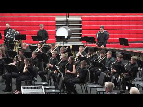 """""""Adventure Overture"""" by the Cedarville Middle School Band"""