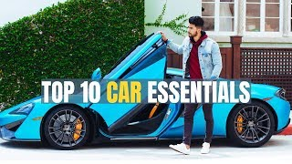 10 Things Every Man should Have In His Car