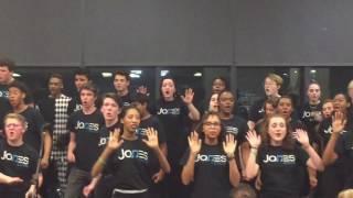 Jones College Prep Choir, Motown Medley, Detroit Tour Group 2017