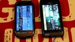 nokia C7 против Nokia N8 HD