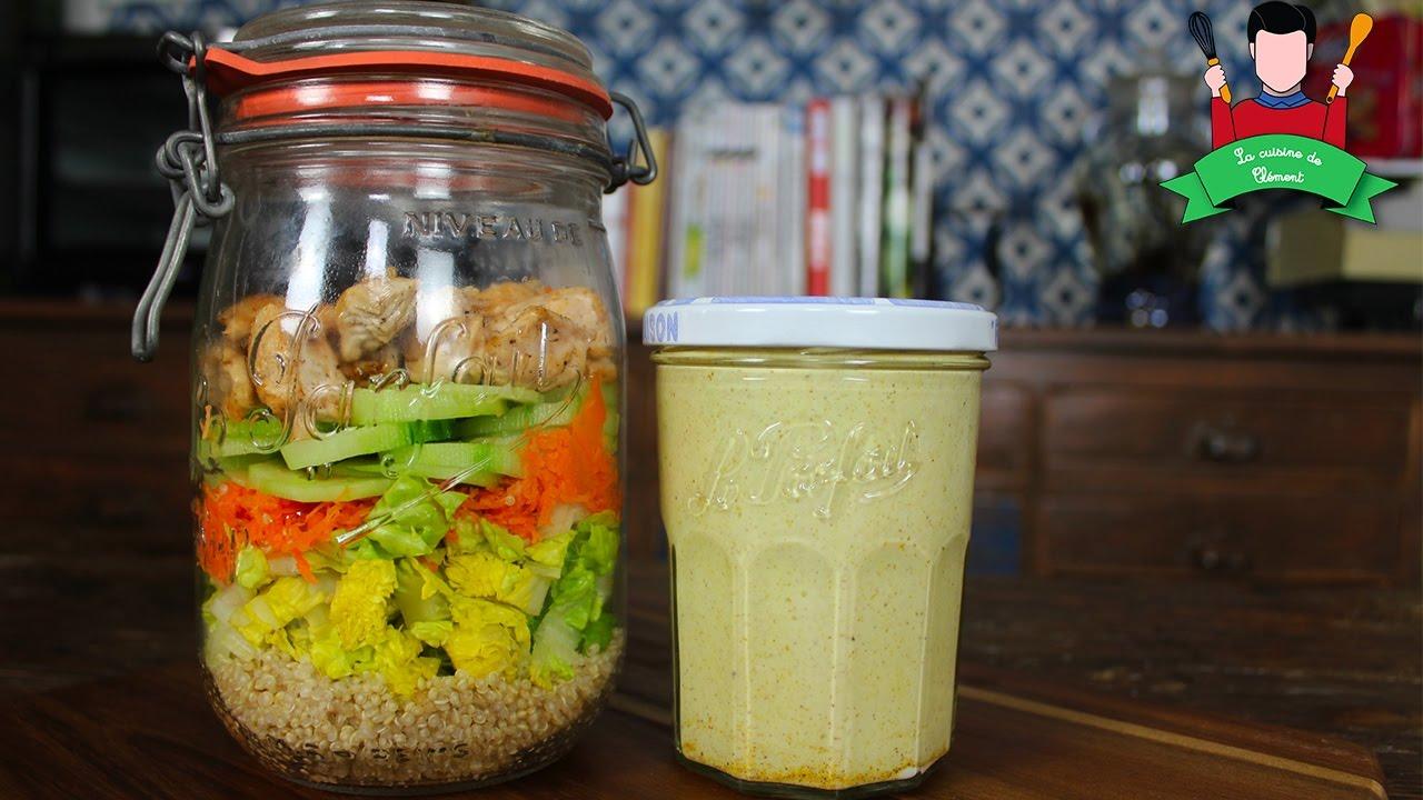 recette salade en jarre salade en bocal id e repas emporter jar salad youtube. Black Bedroom Furniture Sets. Home Design Ideas