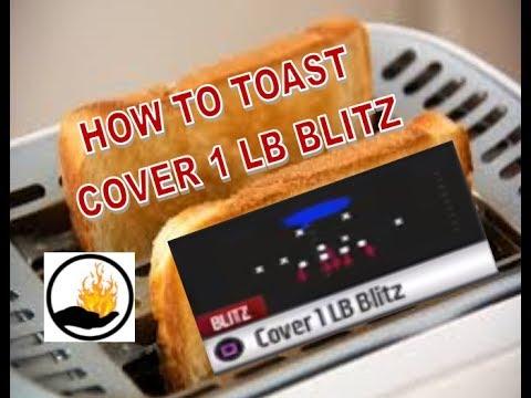 Madden 17 - HOW BEAT BIG DIME COVER 1 LB BLITZ DEFENSE - PART 2