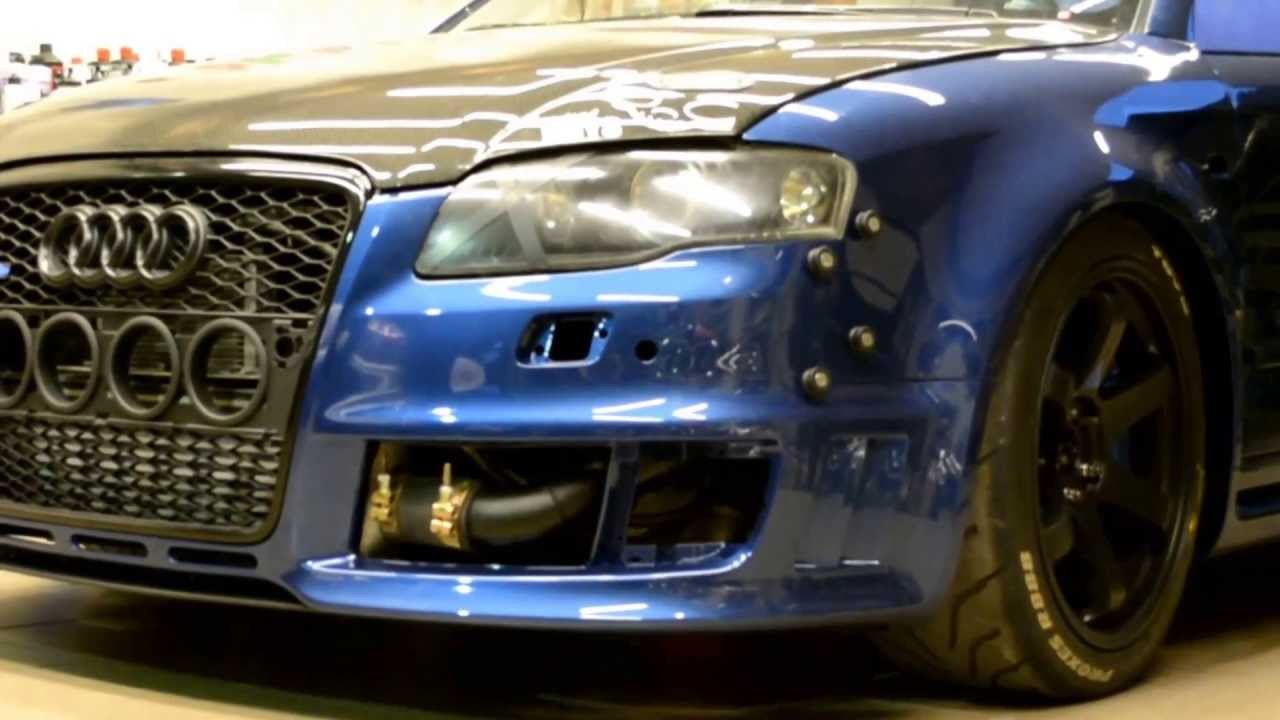 Tom S Garage Audi A4 Rs4 Widebody Conversion Dazzle Show Car Promotions You