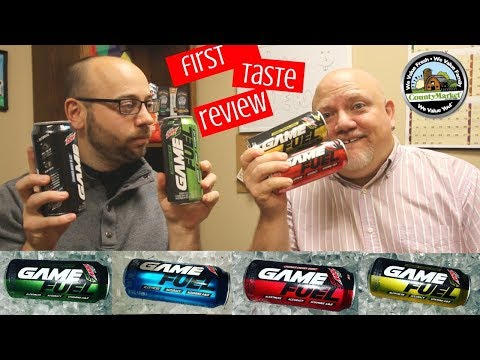 NEW Mountain Dew Amp Game Fuel First Taste Review | Cherry Burst Berry Blast Tropical Strike