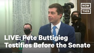 Senate Holds Hearing on Nomination of Pete Buttigieg to Dept of Transportation | LIVE | NowThis