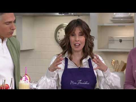 Mrs. Prindable's 9-pc Valentine Pink Lady Apples On QVC