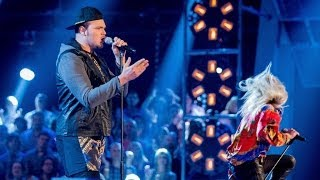 Chris Royal Vs Jamie Lovatt: Battle Performance - The Voice UK 2014 - BBC One