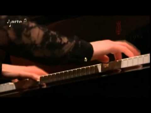 Johann Sebastian Bach   Sonata in Es dur BWV 1031   Edna Stern Piano) , Juliette Hurele (Flute)