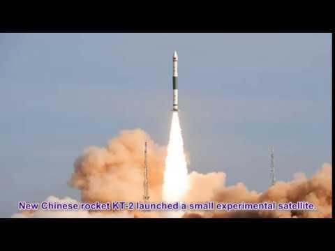 China Launches Experiment Satellite TK 1 using KT 2 rocket