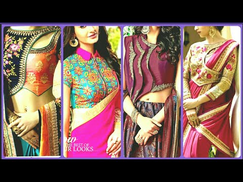 Beautiful Blouse Designs 2019 | Latest  New Designer Blouse Designs for Designer Saree 2019