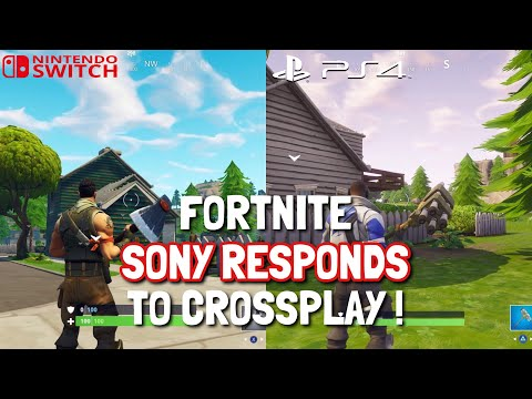 FORTNITE SWITCH CROSSPLAY PS4 ISSUE - Sony Responds !