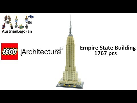 Lego Architecture 21046 Empire State Building Speed Build
