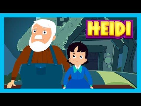 HEIDI - Bedtime Story For Kids || Story Time - HEIDI - Girl of The Alps || Story For Kids