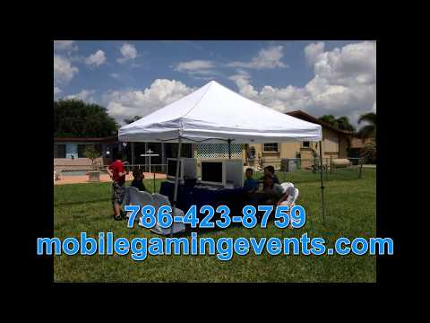 Miami Video Gaming Parties - Mobile Gaming Events - Better Than A Miami Game Truck