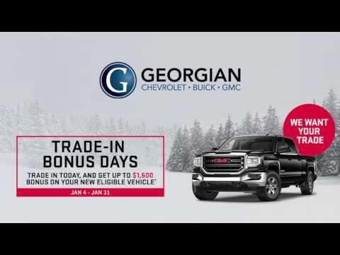 Georgian GMC Buick - Trade In Bonus Days Event