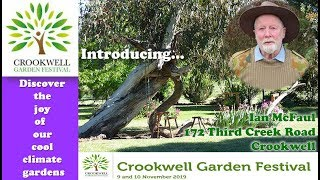 Introducing Ian McFaul, Exhibitor - Crookwell Garden Festival 2019