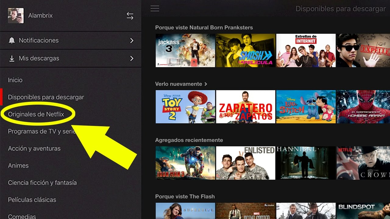Cómo descargar películas y series de Netflix (Android / iOS)