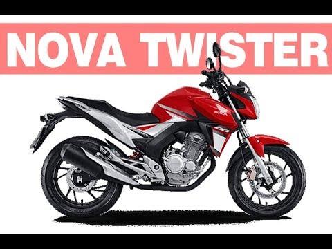 Nova Honda Cb 250 Twister 2018 2019 Ficha Técnica Preço Youtube