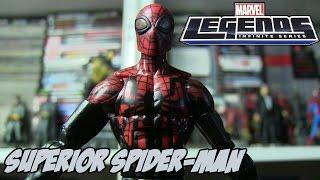 Superior Spider Man от Marvel Legends - Совершенный Человек-Паук (Обзор Фигурки)