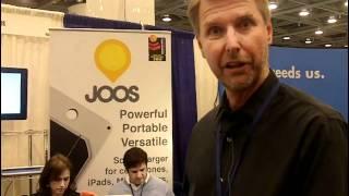 Video JOOS Orange Personal Solar Charger demo at #macworld2011 download MP3, 3GP, MP4, WEBM, AVI, FLV Oktober 2019