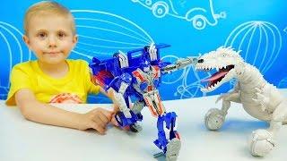 Трансформер Автобот ОПТИМУС ПРАЙМ и мальчик Даник - Обзор Игрушки. Transformer Optimus Prime(Трансформер Оптимус Прайм (Optimus Prime), наверное самый известный из всех трансформеров, притом он является..., 2016-07-17T11:45:38.000Z)