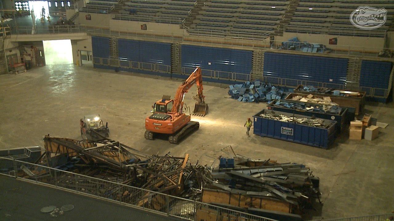 O Connell Center Renovations : Florida gators o connell center renovation update youtube