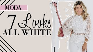 7 Looks ALL WHITE