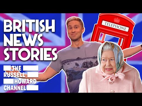 The 10 Most British News Stories | Russell Howard