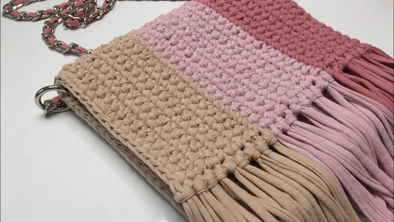 FENOMENLERİN GÖZDESİ   200 TL lik MANGO Çantayı 10 TL ye Yaptım 🤩   Mango Crochet Bag Tutorial