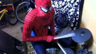 Spider-Man drums! Why Sting Is Such An Idiot by Allen Clapp and His Orchestra!