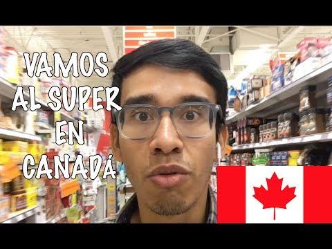 VAMOS AL SUPERMERCADO EN CANADÁ