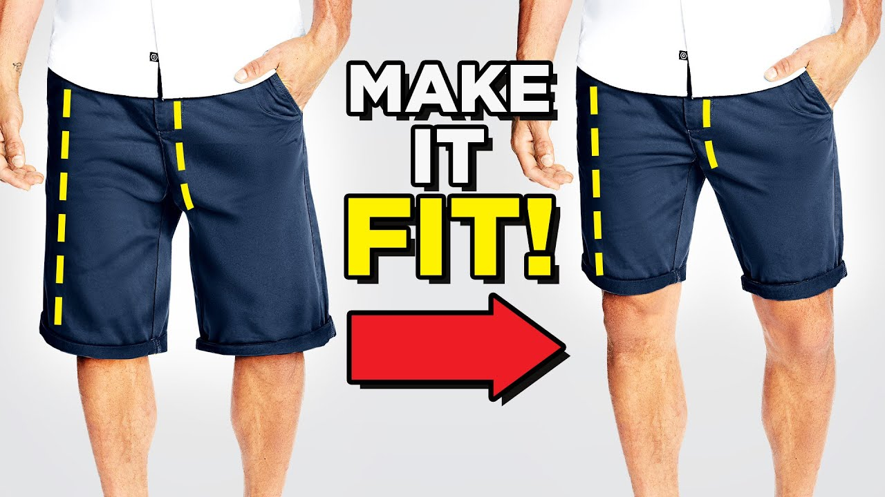 How To Tailor Men's Shorts (Get The Perfect Fit)