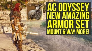 Assassins Creed Odyssey Oracle Pack Adds Amazing New Perk NEW MOUNT And More AC Odyssey Oracle Pack
