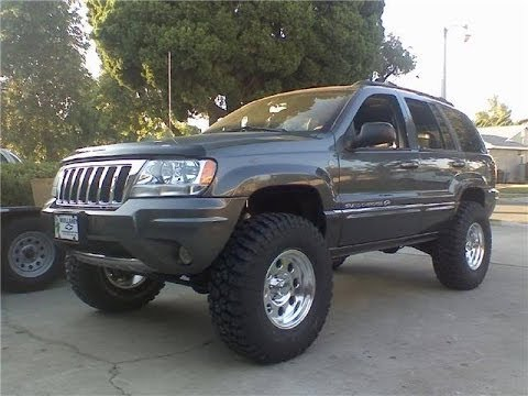 Jeep Grand Cherokee Overland Wj 2 Roughcountry Lift Before And