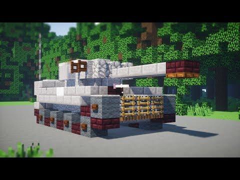 Minecraft Tiger I Heavy Tank Tutorial