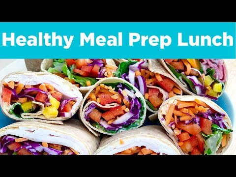 Rainbow Wraps! An easy packable lunch that helps everyone eat more veggies