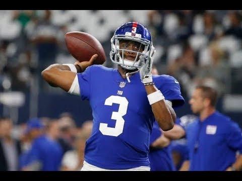 Giants Bench Eli Manning, Opting for Geno Smith as Quarterback