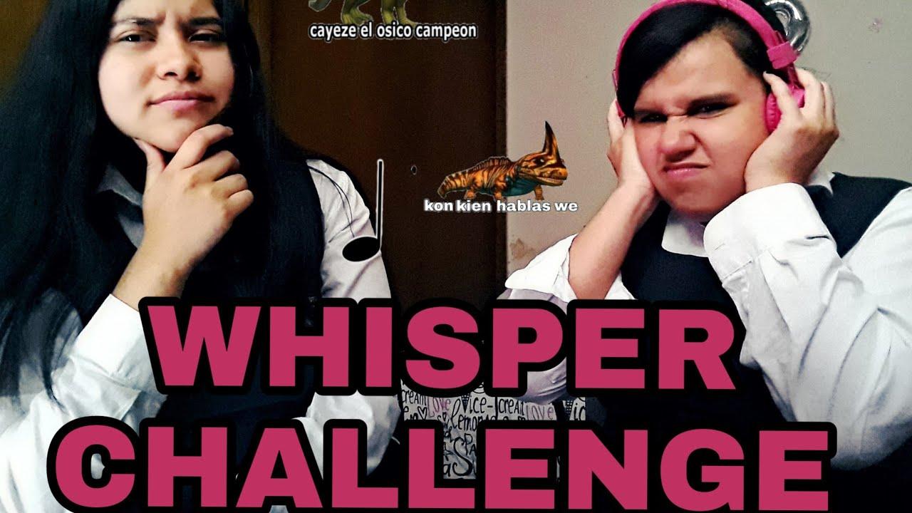 Whisper Challenge Con Frases De Dinosaurios Isabila